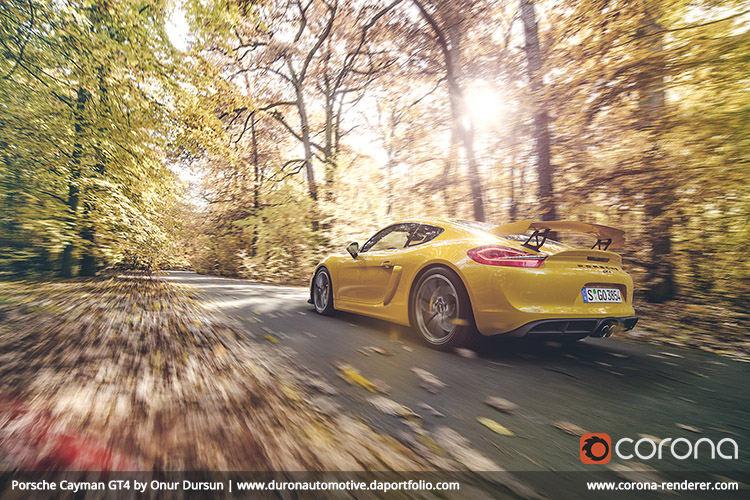 Porsche Cayman GT4 by Onur Dursun