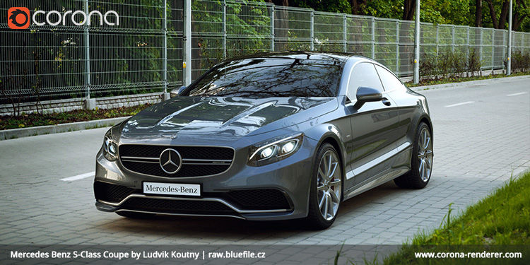 Mercedes Benz S-Class Coupe by Ludvik Koutny