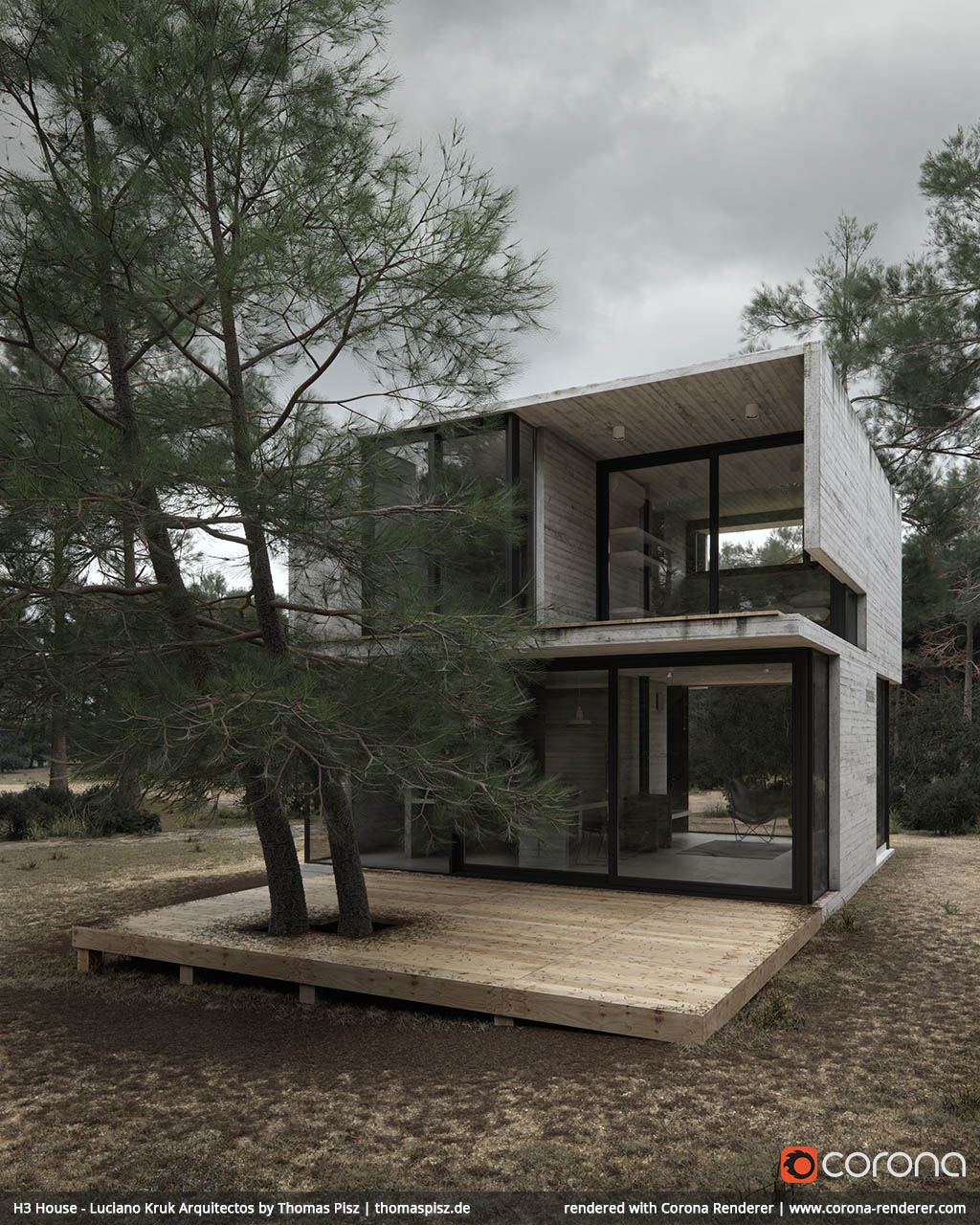 H3 House - Luciano Kruk arquitectos 01 by Thomas Pisz