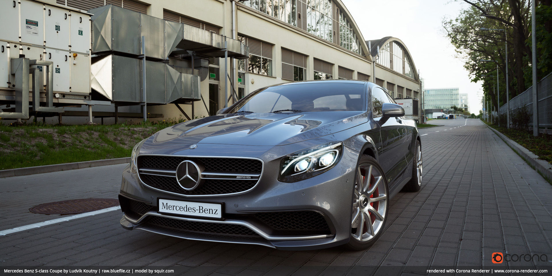 Mercedes Benz S-class Coupe 03 by Ludvik Koutny
