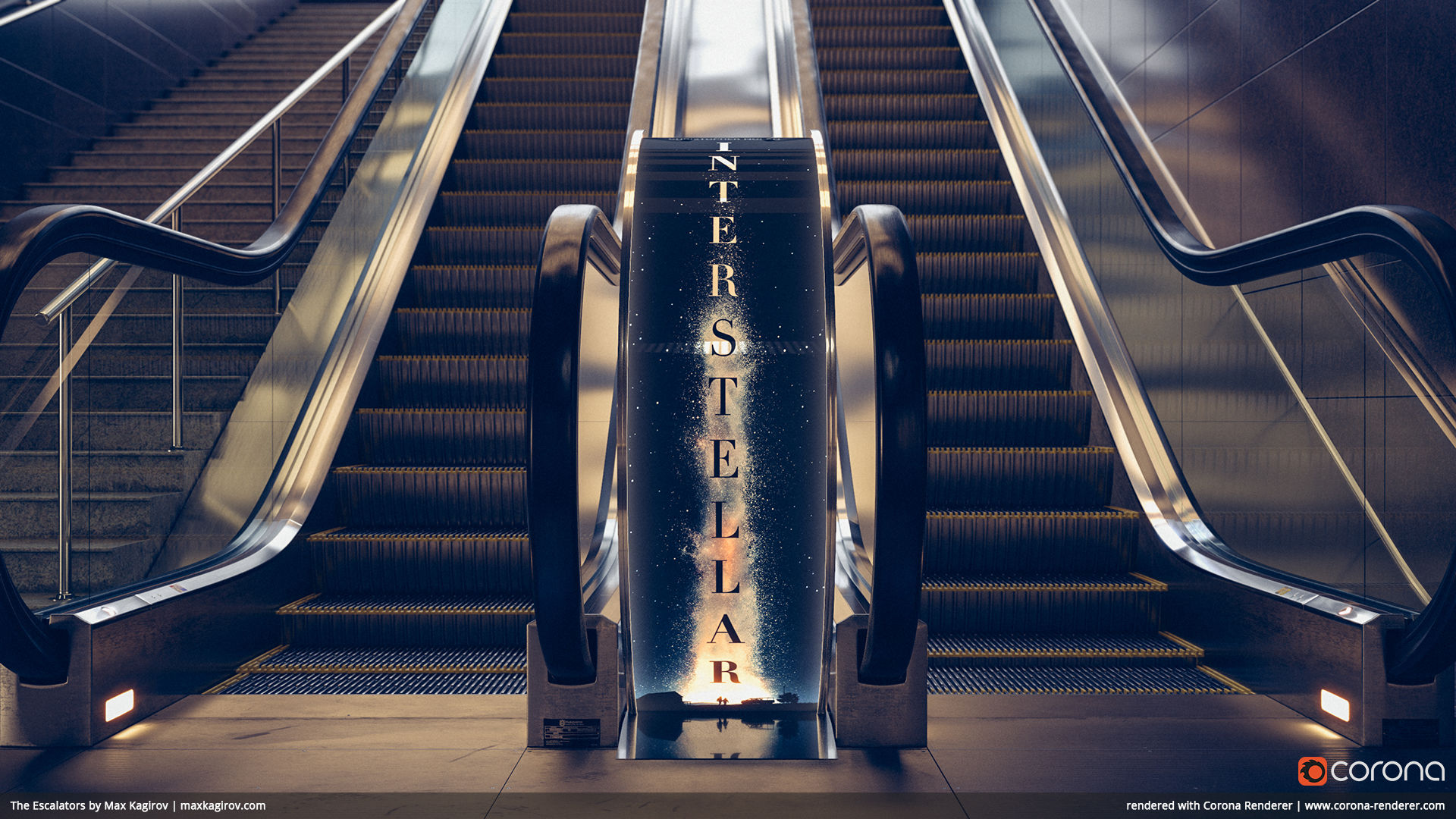 The Escalators 05 by Max Kagirov