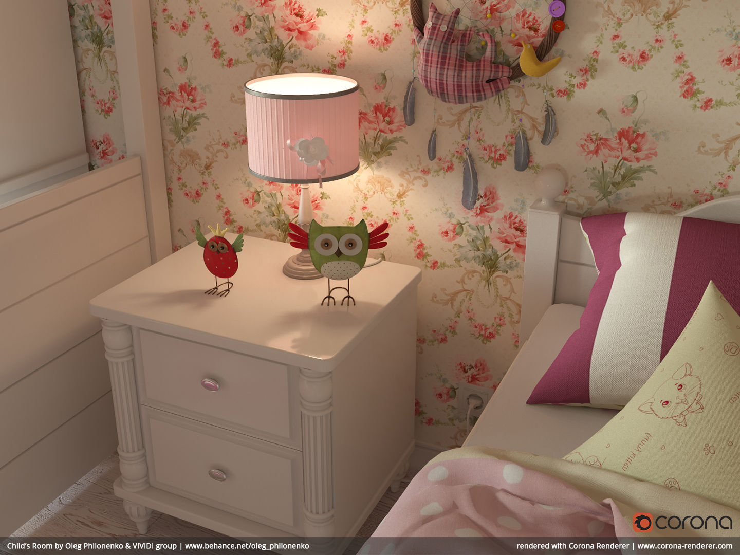 Child's Room 04 by Oleg Philonenko & VIVIDI group