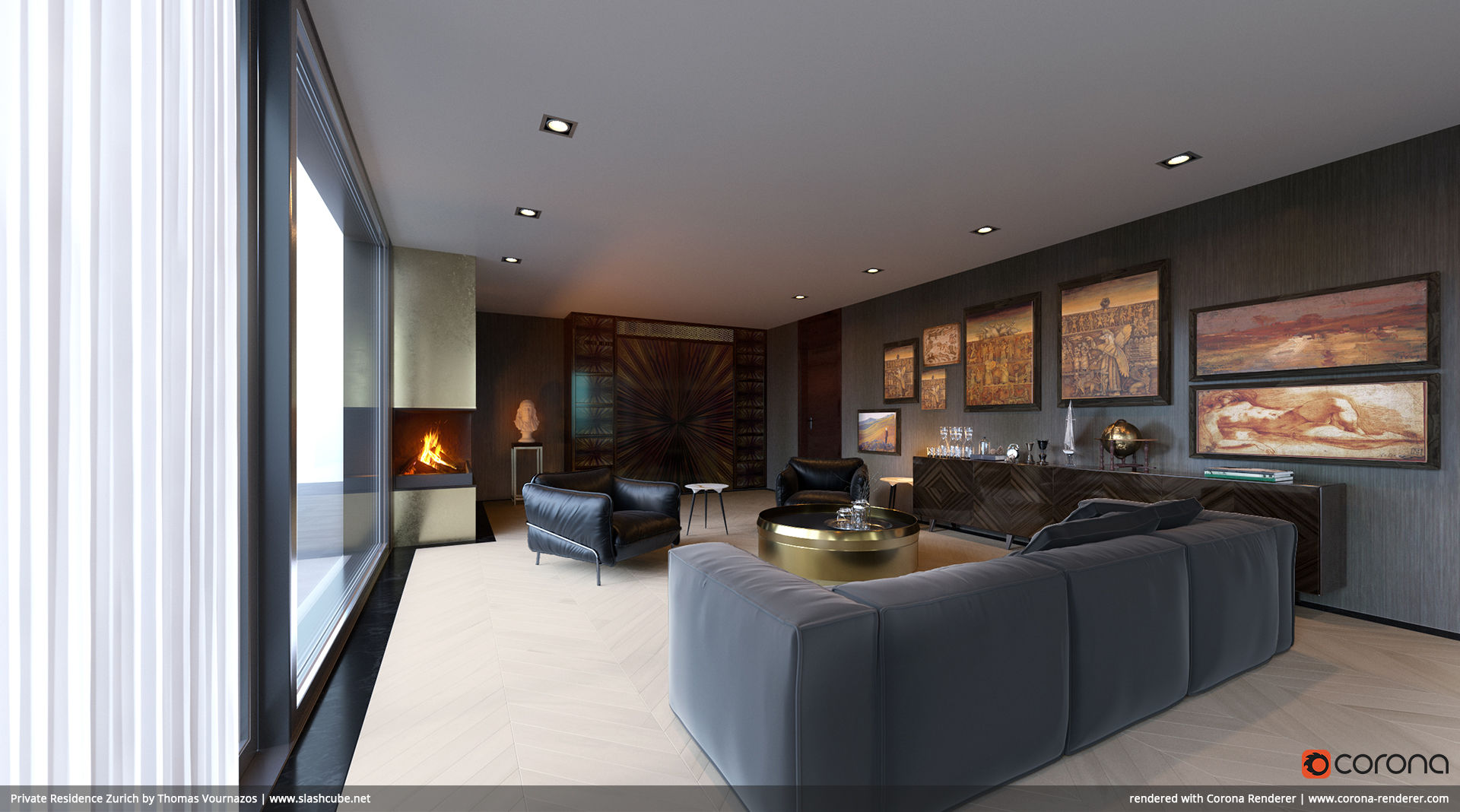 Private Residence Zurich 02 by Thomas Vournazos