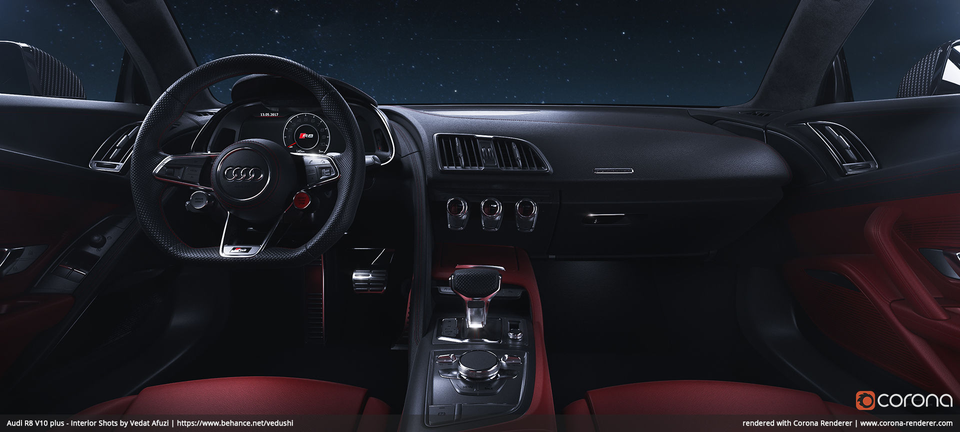 Audi R8 V10 plus - Interior Shot 03 by Vedat Afuzi ...