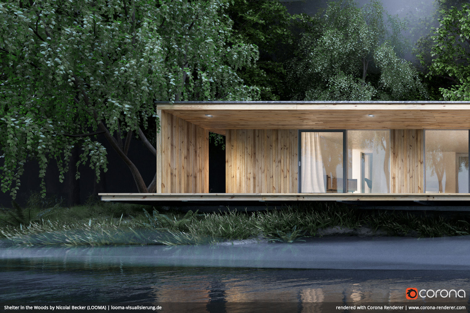 Shelter in the Woods 04 by Nicolai Becker (LOOMA)