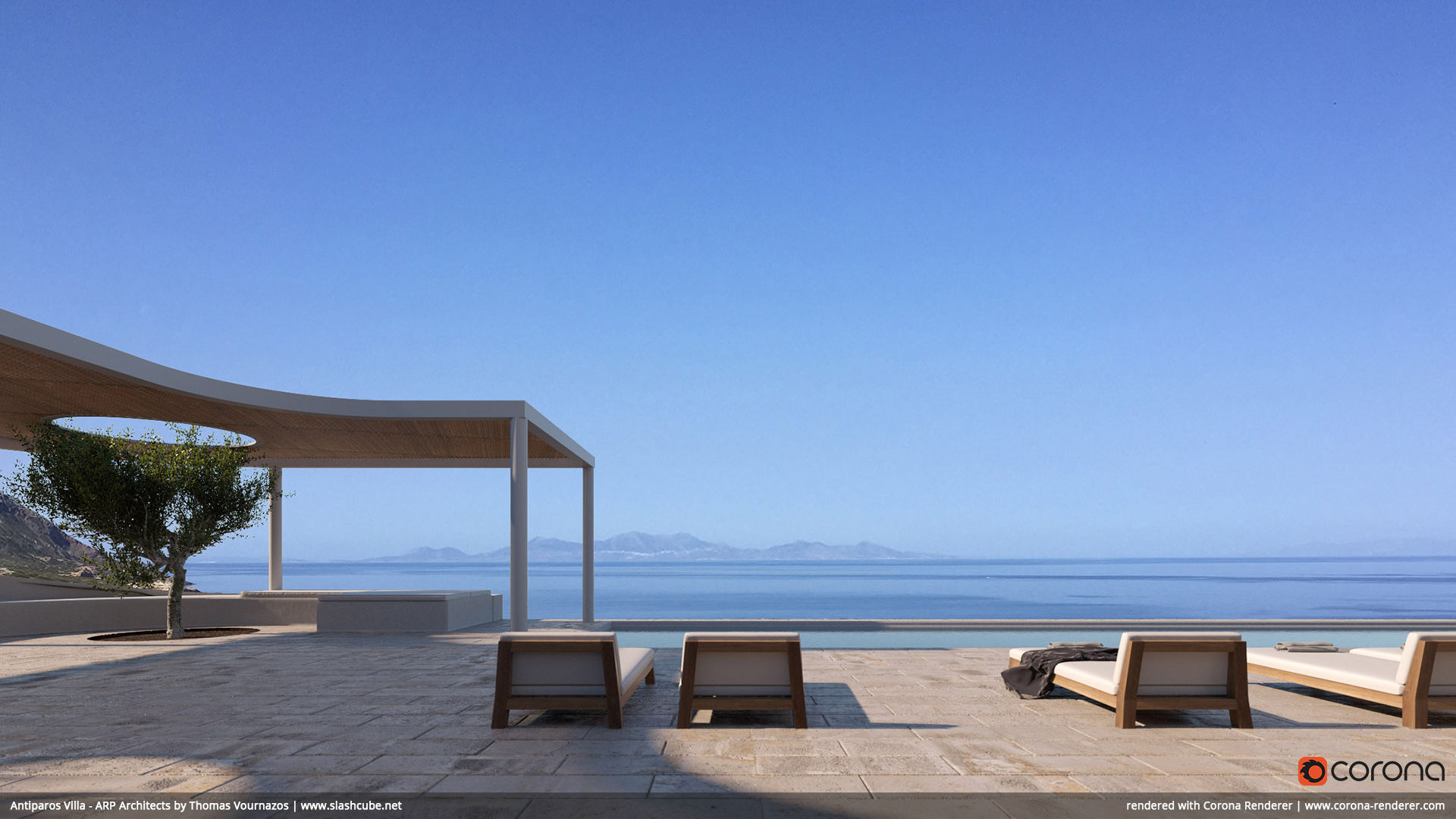 Antiparos Villa - ARP Architects by Thomas Vournazos
