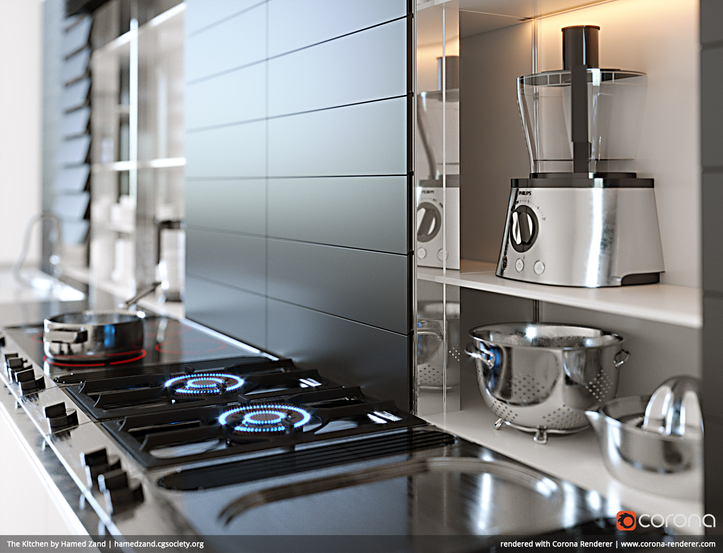 The Kitchen by Hamed Zand