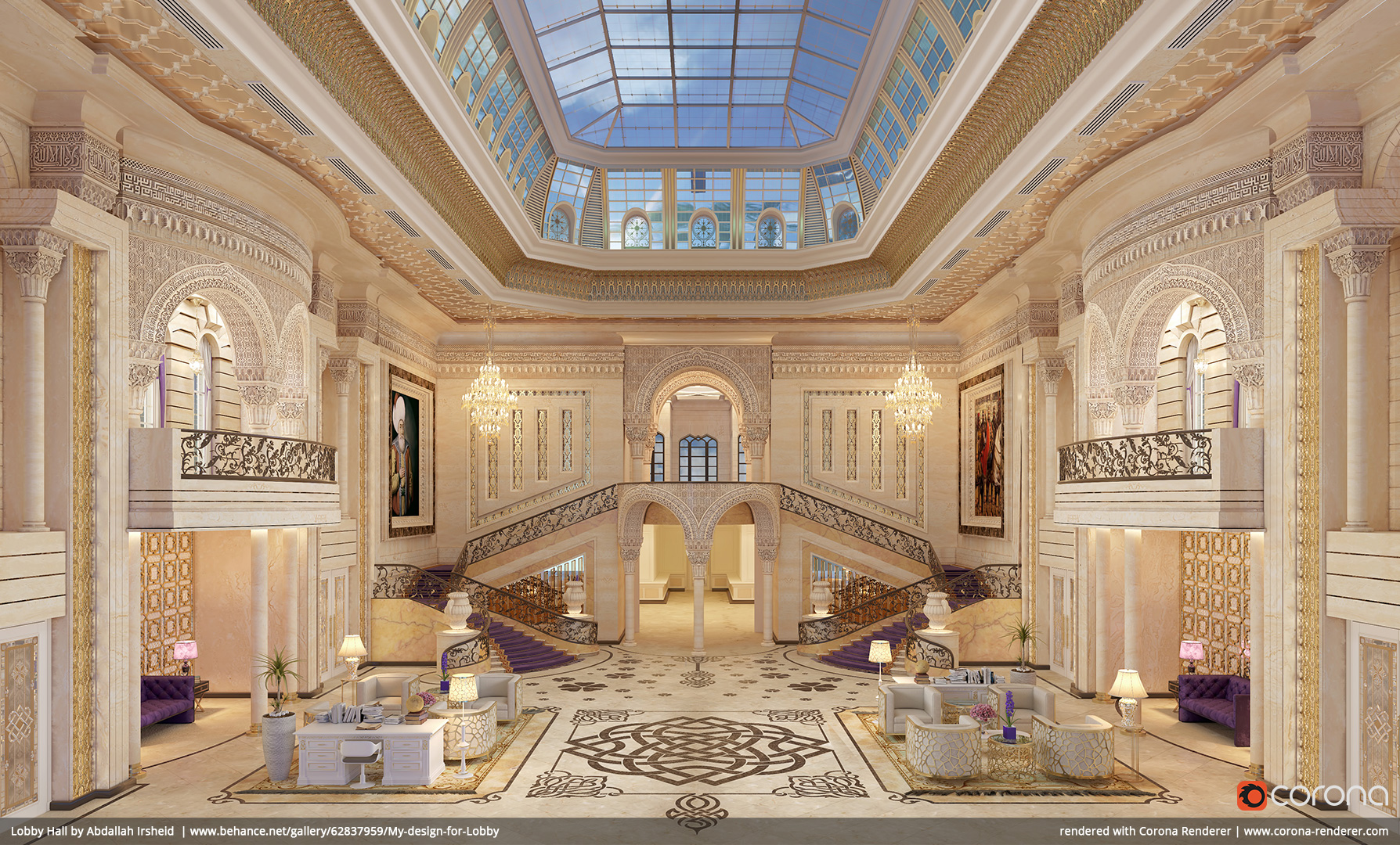 Lobby Hall by Abdallah Irsheid